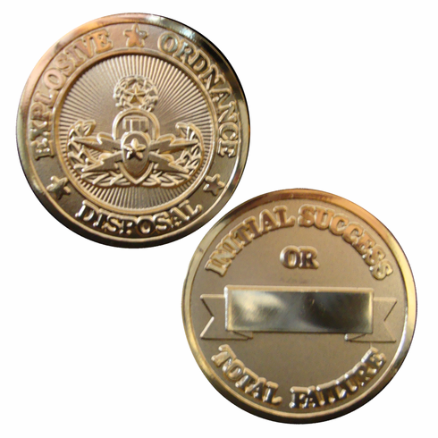 EOD Gold Challenge Coin
