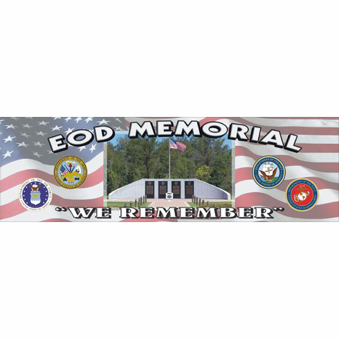 EOD Memorial Bumper Sticker