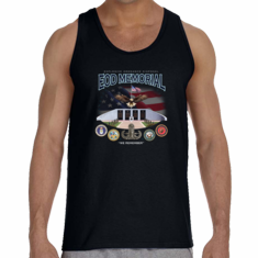 EOD Memorial with Eagle Tank Top