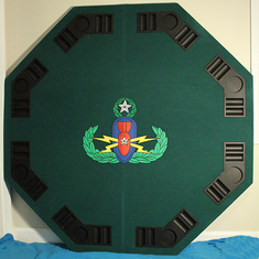 EOD Octagon Poker Table Top