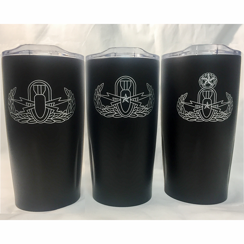 EOD Tumbler with Badge