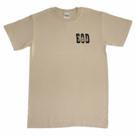 Front Print - EOD with Badge