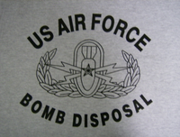 US Air Force Bomb Disposal