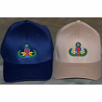 Velcro Colored Badge Hat