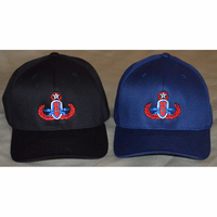 FlexFit Patriotic Badge Hat