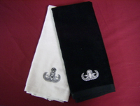 Hand Towel with Badge