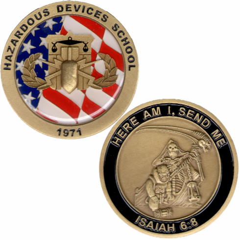 HDS Challenge Coin