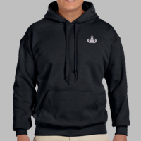Hooded Sweatshirt w/ Embroidered Badge