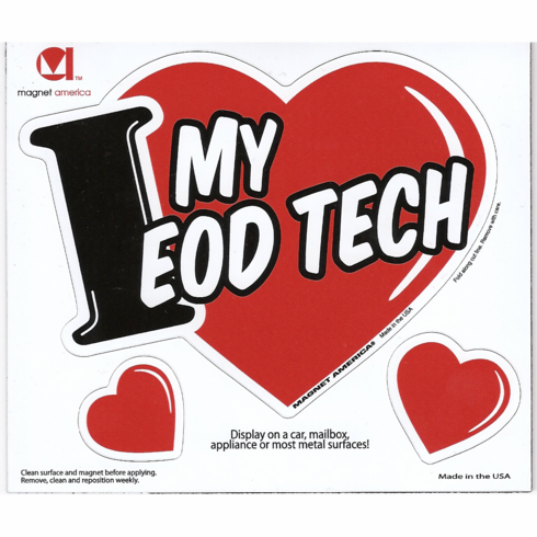 I ♥ MY EOD TECH Magnet