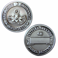 EOD Silver Challenge Coin