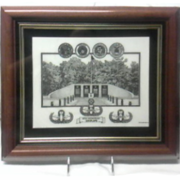 Framed EOD Memorial - Eglin