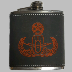 Small Leather Flask