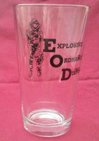 Bomb Suit Pint Glass
