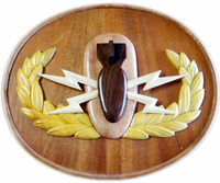 Wooden Basic Badge