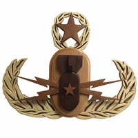 Wooden Master Badge Plaque