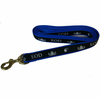 Nylon Dog Leash with Basic Badge imprint