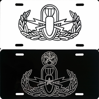 EOD Plate with Vinyl Badge