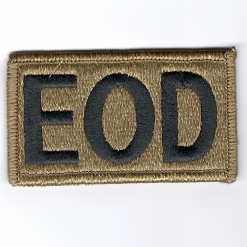 Multicam EOD Badge