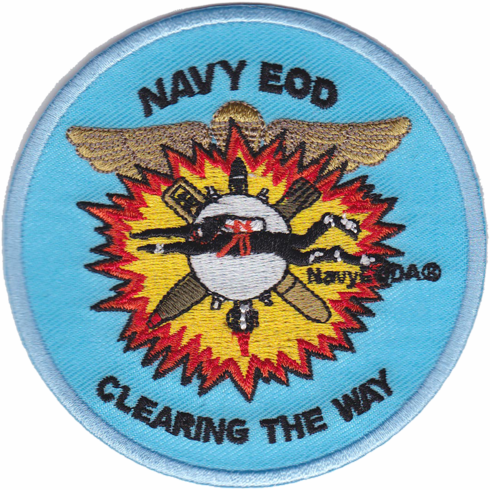 Navy EODA Patch
