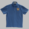Navy EODA Embroidered Polo Shirt