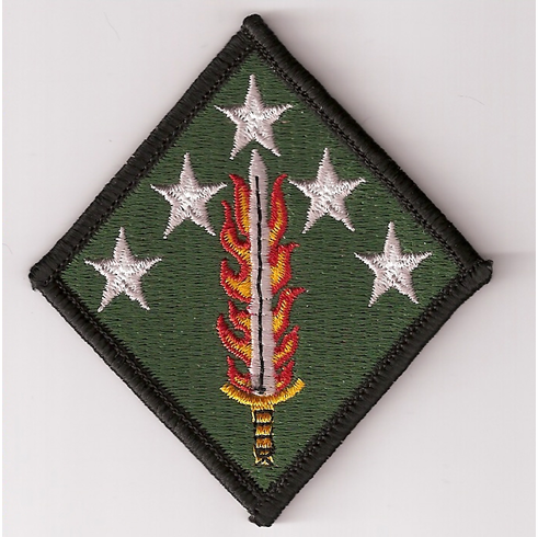 20th Support Command Full Color Patch