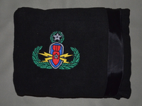 Pillow/Blanket with Badge