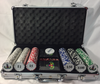 Poker Chip Set with Master Badge