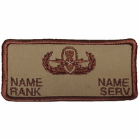 Khaki Flight Suit Patch