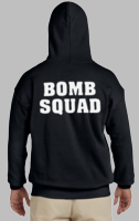 Bomb Squad Sweatshirt with White back print only