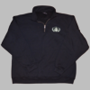 HDT Quarter Zip Sweatshirt w/  Embroidered Badge