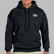 HDT Hooded Sweatshirt w/ Embroidered Badge