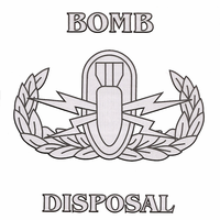 Bomb Disposal w/ Basic Badge