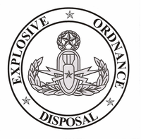 EOD Coin w/ Master Badge
