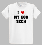 I ♥ My EOD Tech Shirt