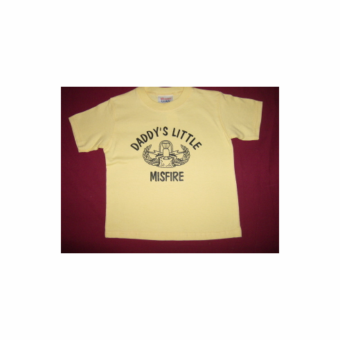 Toddler Tee - Daddys Little Misfire