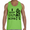 Men's Keep Calm Tank Top