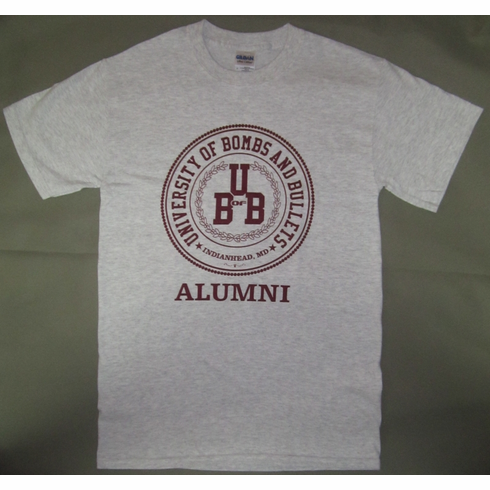 University of Bombs & Bullets Alumni Shirt
