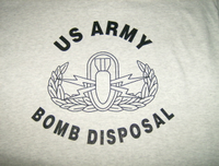 US Army Bomb Disposal