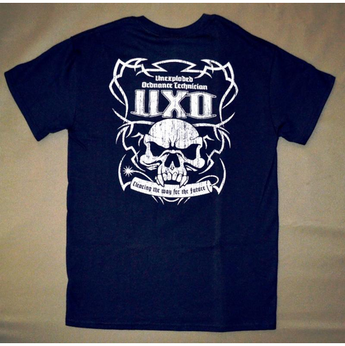 UXO Tee-Dark Blue-Short Sleeve