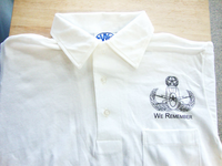 """We Remember"" Polo Shirt"