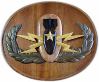 Wooden Senior Badge