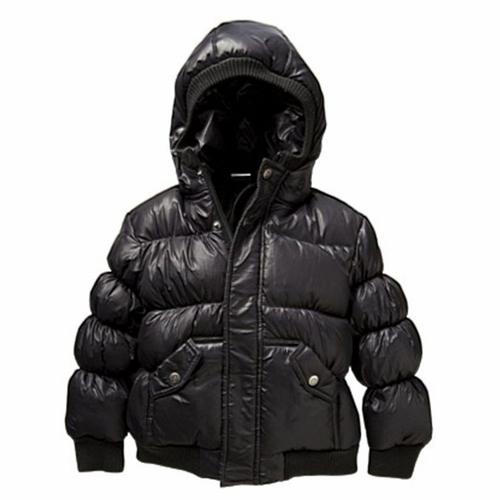 Appaman Black Puffy Coat