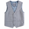 Appaman Glen Plaid Tailored Vest