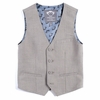 Appaman Phineas Plaid Tailored Vest