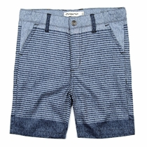 Appaman Slate Striped Hybrid Shorts