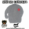 Be Lucky Grunge Cardigan Sweater