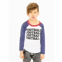 Chaser Football!!! Long Sleeve Raglan Tee