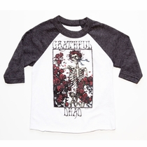 Chaser Grateful Dead Box Of Roses Raglan Tee