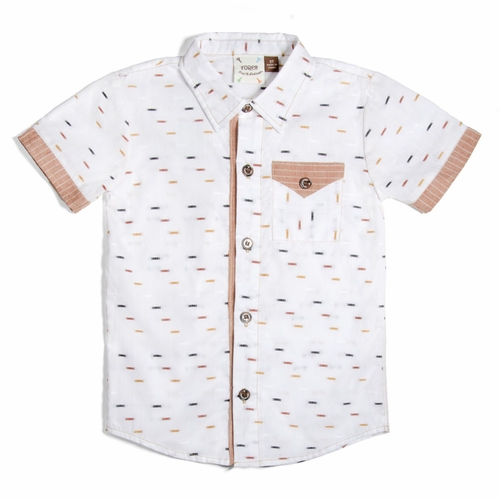 Fore!! by Axel & Hudson Dobby Bars Shirt