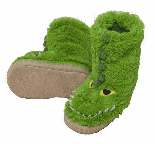 Hatley Alligator Slippers